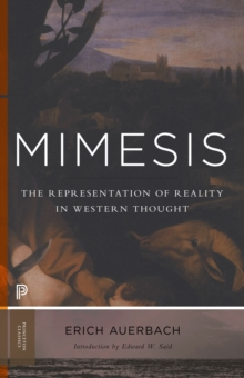Mimesis : The Representation of Reality in Western Literature, Paperback Book
