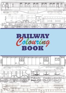 Railway Colouring Book, Paperback Book