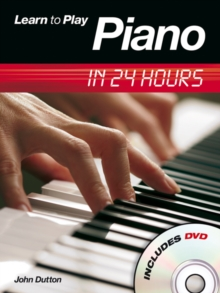 Learn to Play Piano in 24 Hours, Mixed media product Book