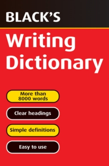 Black's Writing Dictionary, Paperback Book