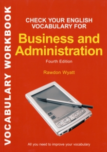 Check your English Vocabulary for Business & Administration, Paperback Book