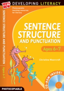 Sentence Structure and Punctuation - Ages 6-7 : 100% New Developing Literacy Year 2, Mixed media product Book