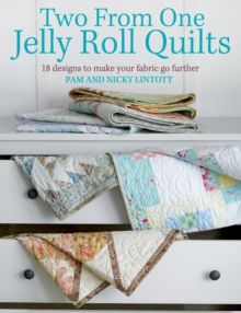 Two from One Jelly Roll Quilts, Paperback Book