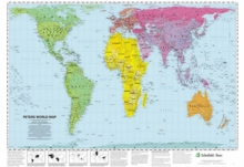 Peters World Map, Poster Book
