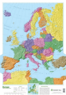 Map of Europe, Poster Book