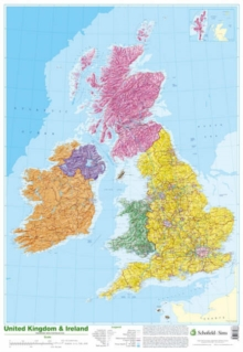 Map of UK and Ireland, Poster Book