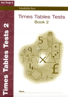 Times Tables Tests : Book 2, Paperback Book