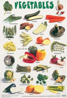 Vegetables, Poster Book