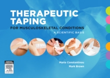 Therapeutic Taping for Musculoskeletal Conditions, Spiral bound Book
