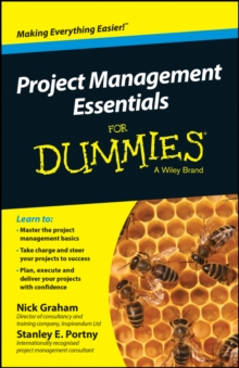 Project Management Essentials For Dummies, Paperback Book
