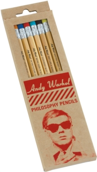 Warhol Philosophy Pencil Set, Other merchandise Book