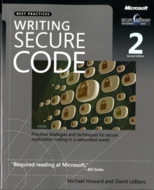 Writing Secure Code, Paperback Book