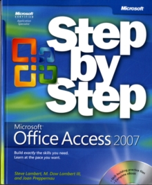 Microsoft Office Access 2007 Step-by-Step, Mixed media product Book