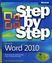 Microsoft Word 2010 Step by Step, Paperback Book