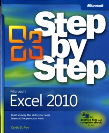 Microsoft Excel 2010 Step by Step, Paperback Book