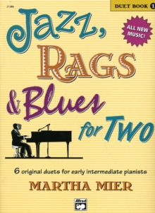 JAZZ RAGS BLUES FOR TWO BOOK 1,  Book