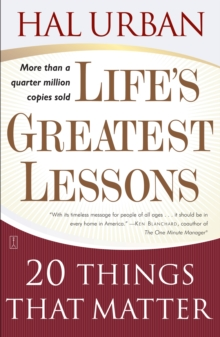 Life's Greatest Lessons: 20 Things that Matter, Paperback Book