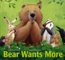 Bear Wants More, Paperback Book