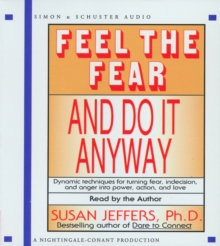Feel the Fear and Do it Anyway, CD-Audio Book