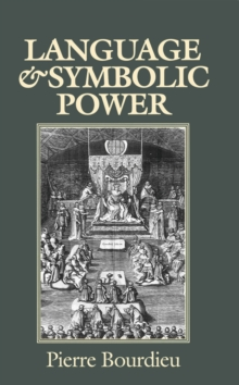 Language and Symbolic Power, Paperback Book