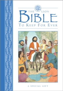 The Lion Bible to Keep for Ever, Hardback Book