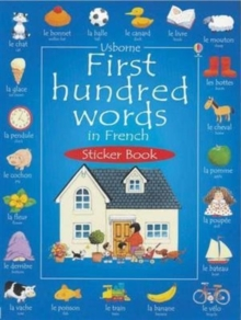 First 100 Words in French Sticker Book, Other printed item Book