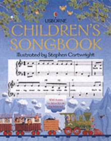 Usborne Children's Songbook, Paperback Book