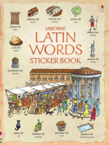 Latin Words Sticker Book, Paperback Book