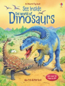 See Inside the World of Dinosaurs, Board book Book