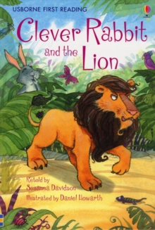 Clever Rabbit and the Lion, Hardback Book