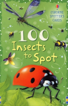100 Insects to Spot Usborne Spotters Cards, Novelty book Book
