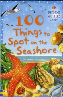 100 Things to Spot on the Seashore Usborne Spotters Cards, Novelty book Book