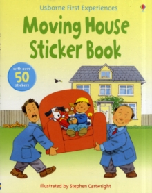 Usborne First Experiences Moving House Sticker Book, Paperback Book