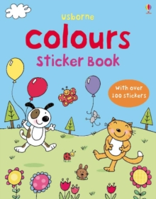 First Sticker Book Colours, Paperback Book