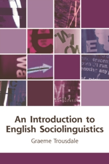 An Introduction to English Sociolinguistics, Paperback Book