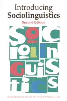 Introducing Sociolinguistics, Paperback Book