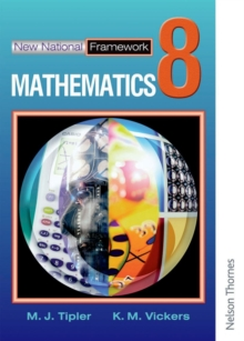 New National Framework Mathematics 8 Core Pupil's Book, Paperback Book