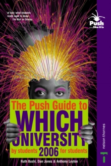 The Push Guide to Which University, Paperback Book