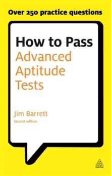 How to Pass Advanced Aptitude Tests, Paperback Book