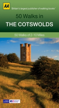50 Walks in Cotswolds, Paperback Book