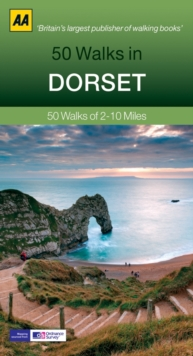 50 Walks in Dorset, Paperback Book