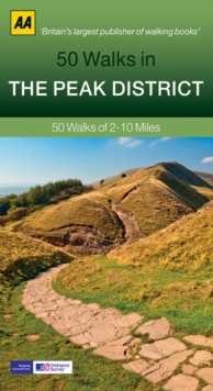 50 Walks in Peak District, Paperback Book