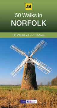 50 Walks in Norfolk, Paperback Book