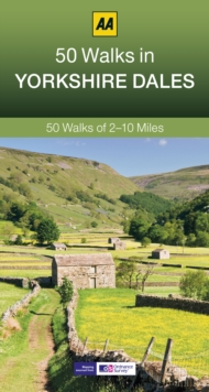 50 Walks in Yorkshire Dales, Paperback Book