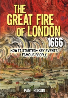 The Great Fire of London 1666, Paperback Book