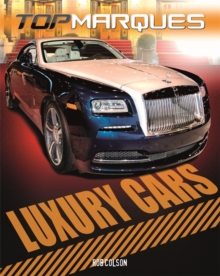 Luxury Cars, Hardback Book