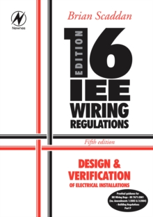 Design and Verification of Electrical Installations, Paperback Book