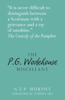 The P.G. Wodehouse Miscellany, Hardback Book