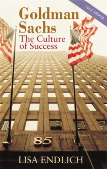 Goldman Sachs : The Culture of Success, Paperback Book