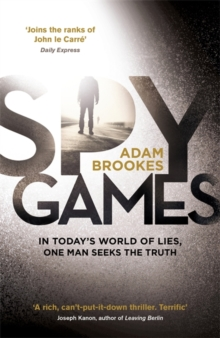 Spy Games, Hardback Book